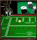Free Download Chuck a Luck Dice Game table games